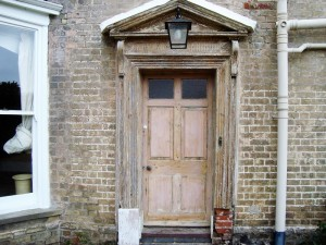 Restoring a Georgian Door