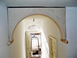 Restoration of a Georgian Hallway