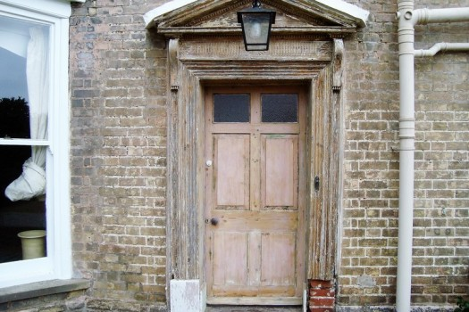 Restoration of a Georgian Door